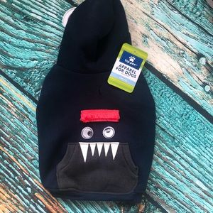 Funny Face Dogs Hoodie- S